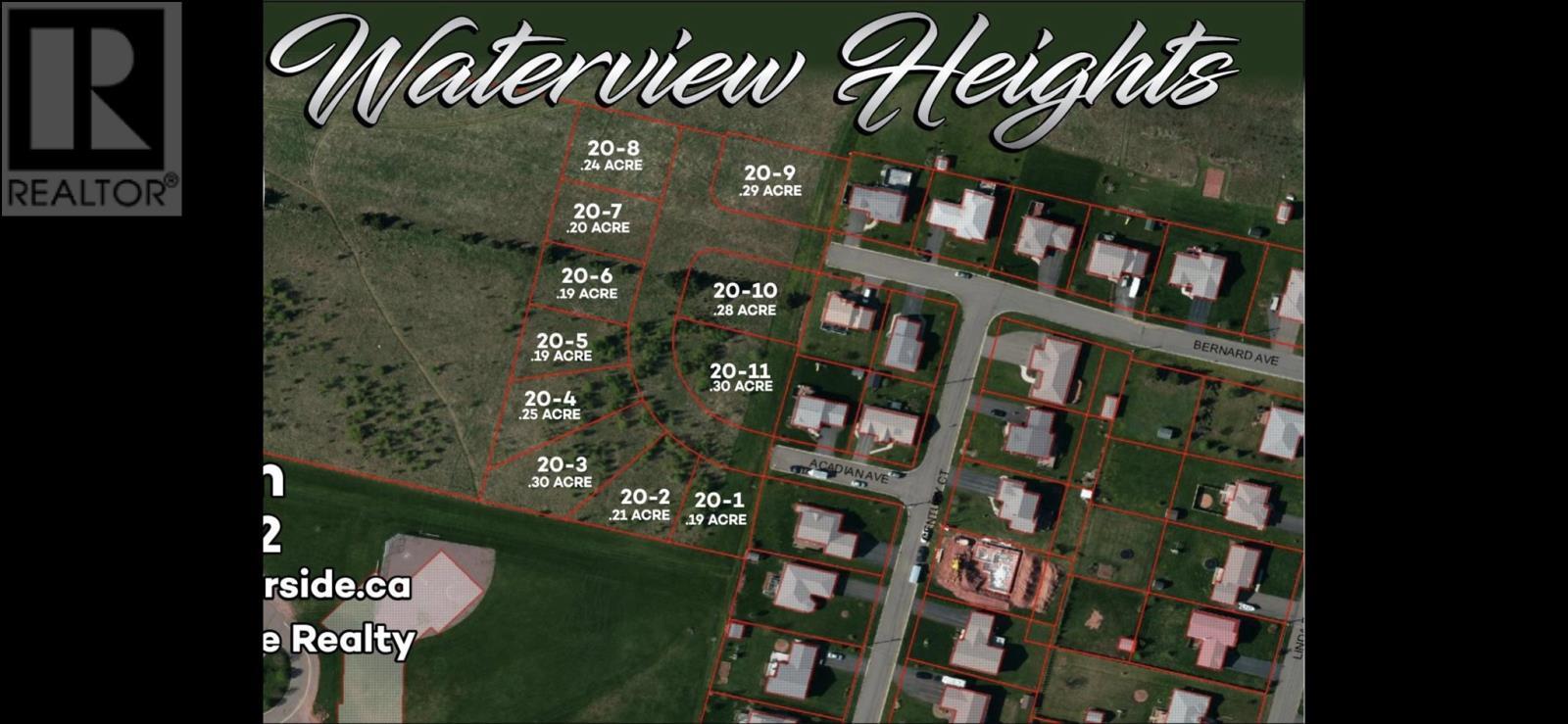 LOT 20-2 WATERVIEW HEIGHTS Summerside